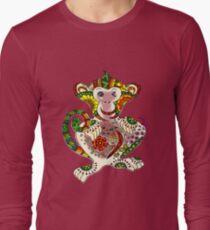 Abstract: cheerful monkey T-Shirt