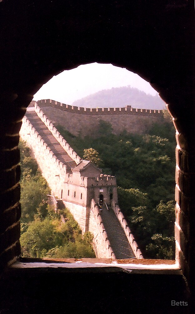 Great Wall- China by Betts