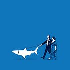 Walking the Shark by robCREATIVE