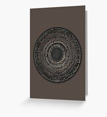 The Pandorica Greeting Card