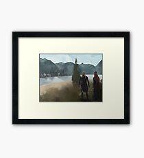 Legolas-Tauriel concept Framed Print