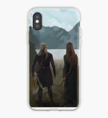 Legolas-Tauriel concept iPhone Case