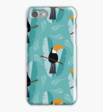Toucans Pattern Design iPhone Case/Skin