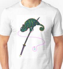 Samurai Chameleon Unisex T-Shirt