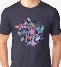 Shroomy Forest Night Unisex T-Shirt