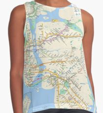New York City Subway Contrast Tank