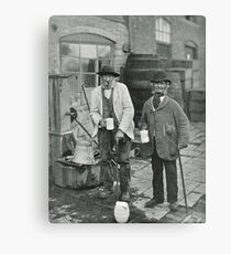 Bidford Mop Sippers & Topers Circa 1906 Canvas Print