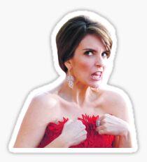 Tina Fey Candid Sticker