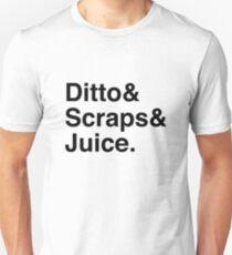 Ditto & Scraps & Juice Unisex T-Shirt