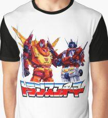 Optimus Prime and Rodimus Graphic T-Shirt