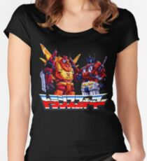 Optimus Prime and Rodimus Women's Fitted Scoop T-Shirt
