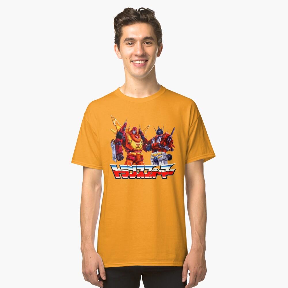 Optimus Prime and Rodimus Classic T-Shirt Front