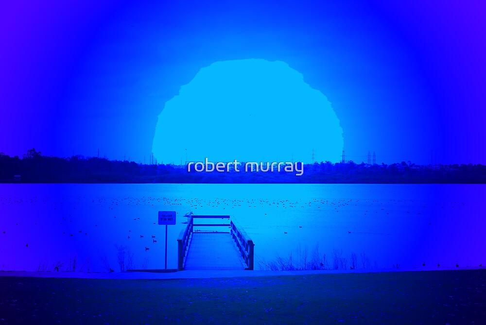 Blue Moon Rising by robert murray