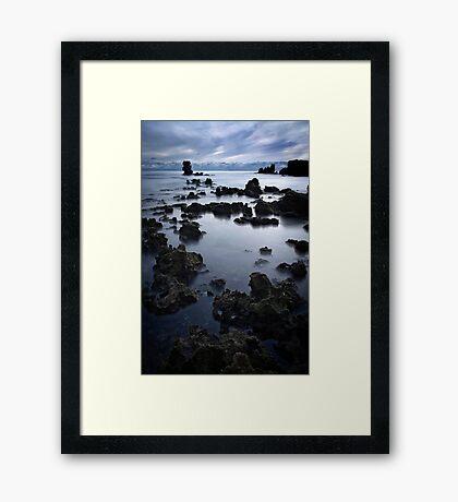 Rainbow Rocks Framed Print