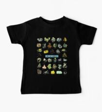 Ores and Minerals Gems and Crystals Rock Collector Baby Tee