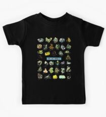 Erz und Mineralien Edelsteine und Kristalle Rock Collector Kinder T-Shirt