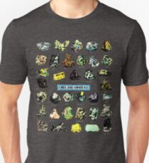 Ores and Minerals Gems and Crystals Rock Collector T-Shirt
