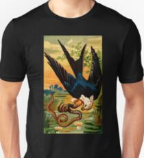 Vintage Swallow-Tailed Hawk Unisex T-Shirt