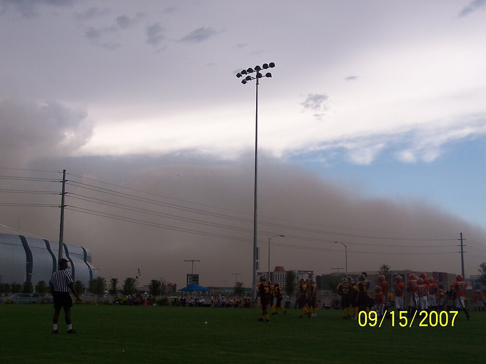 Dust storm by njfeeler