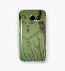 Magican cat stranger  Samsung Galaxy Case/Skin