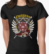 Dungeon Crawlers Guild - (Standard) Womens Fitted T-Shirt