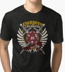 Dungeon Crawlers Guild - (Worn) Tri-blend T-Shirt