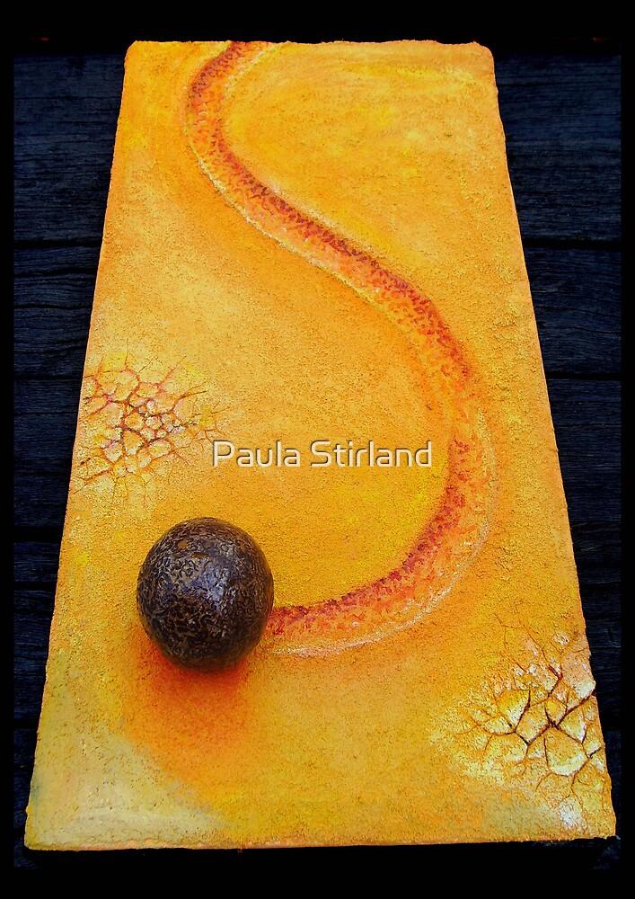 Making tracks by Paula Stirland
