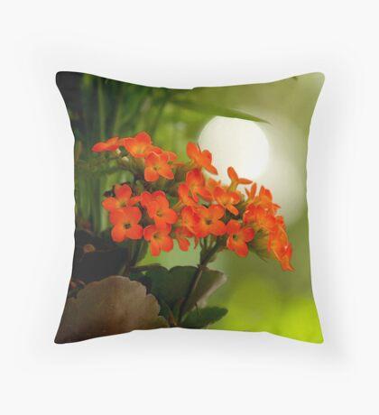 Joyfully Meditative Throw Pillow