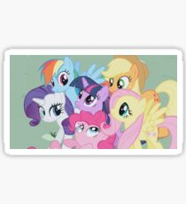 All Ponies In MLP Sticker