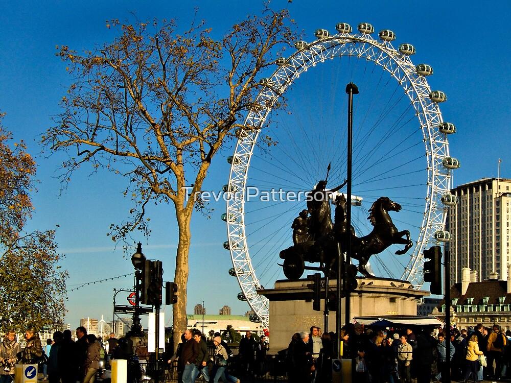 London Eye by Trevor Patterson