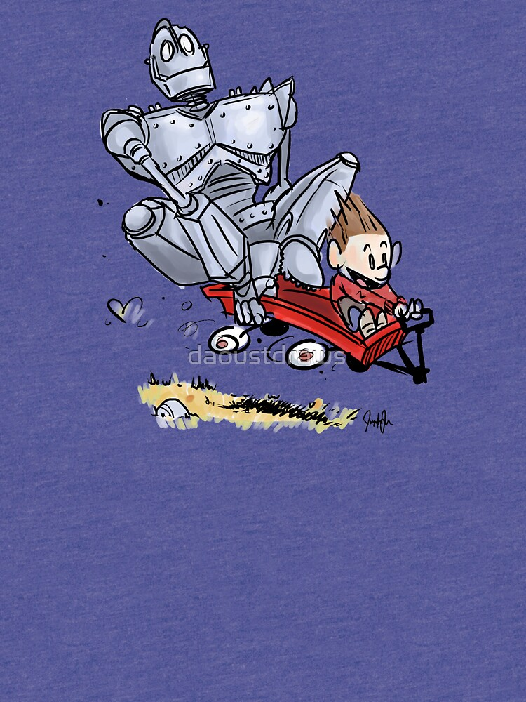 Iron Giant by daoustdraws
