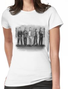 Breaking Bad/ The Usual Suspects (BW) Womens Fitted T-Shirt