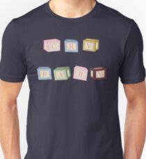 CRY BABY BLOCKS Unisex T-Shirt