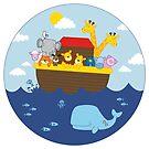 Noah's Ark by ShakeyIllustra