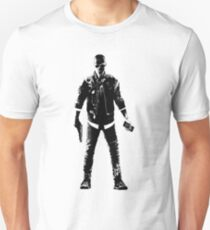 Weathered Marcus Halloway Watch Dogs Unisex T-Shirt