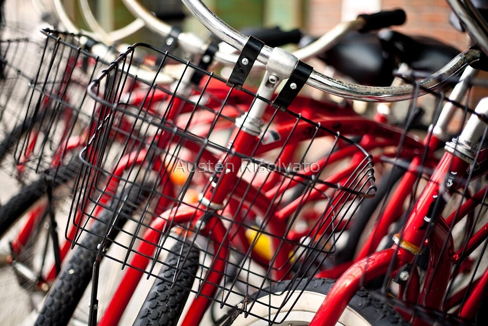 Bowery Bikes by Austen Risolvato