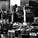 nyc as seen from Hotel Indigo by ShellyKay