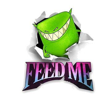 Feed Me logo by Wyllydd