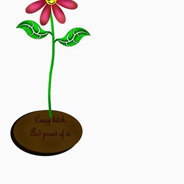 Crazy bitch flower. by SketchRaven