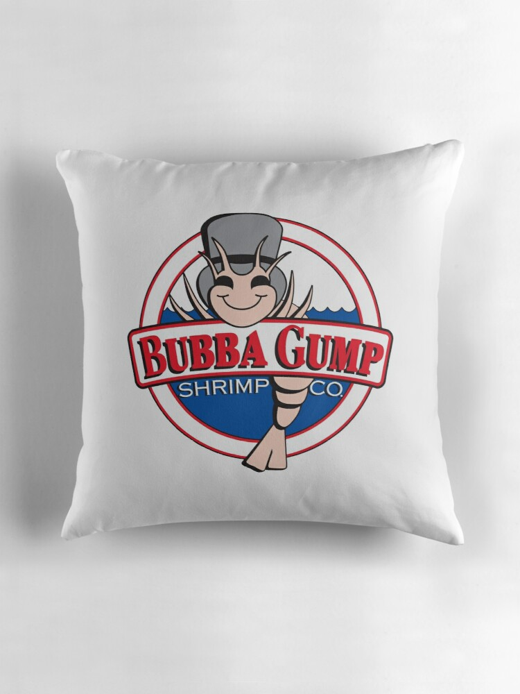 """Bubba Gump Shrimp"""" Throw Pillows by bismesin"""