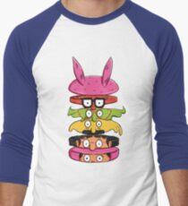 Burger Family Men's Baseball ¾ T-Shirt