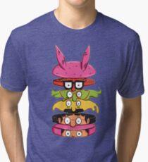 Burger Family Tri-blend T-Shirt