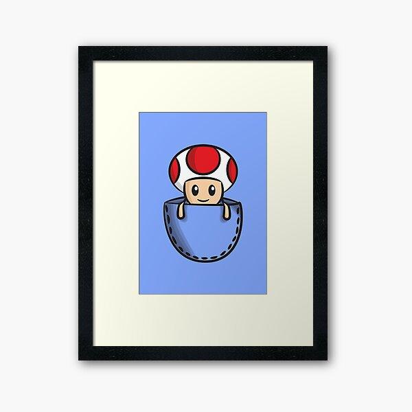 Pocket Toad Framed Art Print