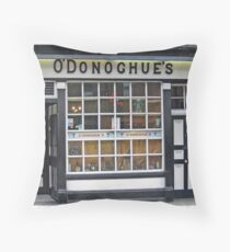 Pubs of Ireland ~ O'Donoghue's Pub Throw Pillow