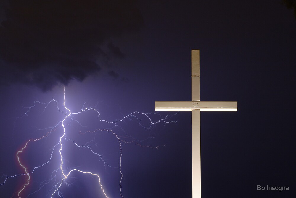 Lightning and the Cross by Bo Insogna