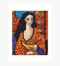 gondwana geisha Art Print