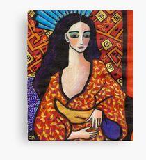 gondwana geisha Canvas Print