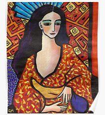 gondwana geisha Poster