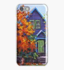 Fall in the Neighborhood iPhone Case/Skin