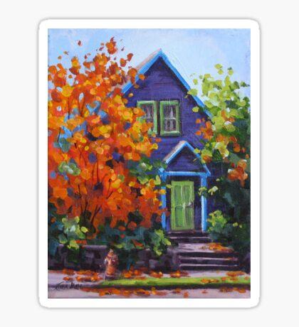 Fall in the Neighborhood Sticker